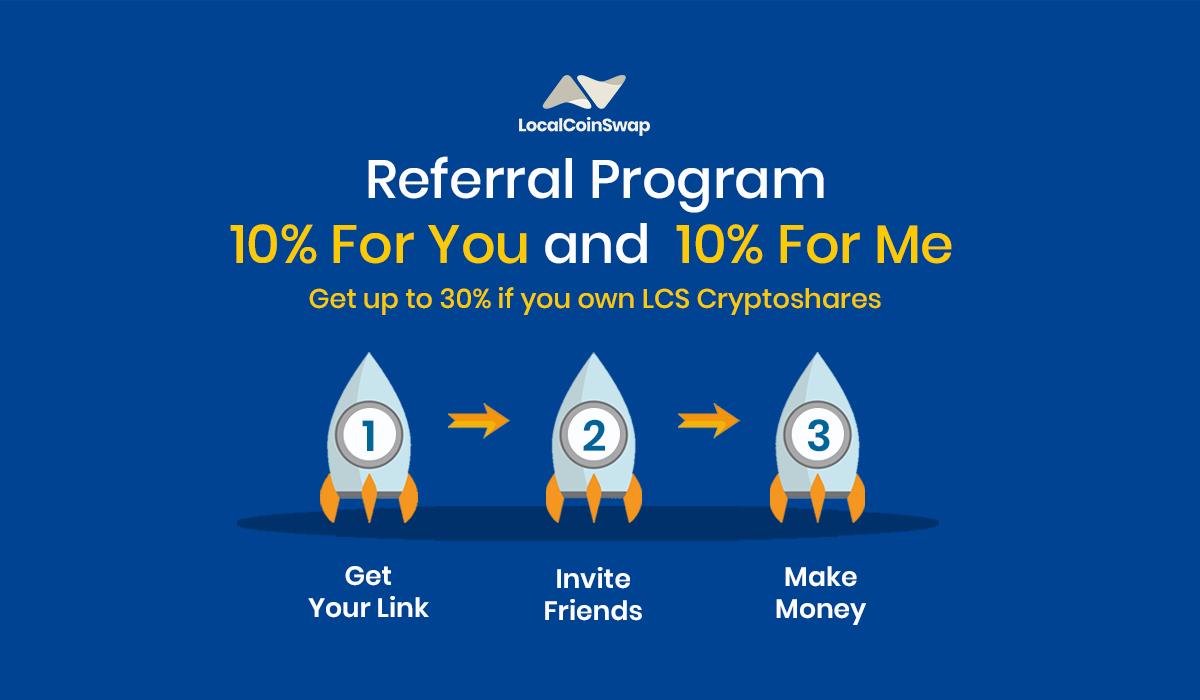 LocalCoinSwap P2P Referral Program