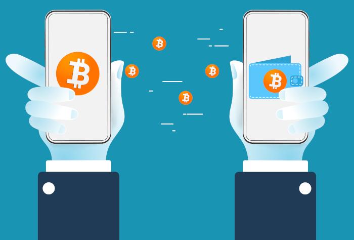transfer between bitcoin wallets