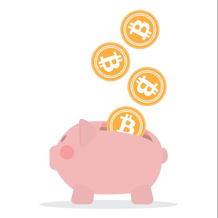 storing bitcoin and saving money