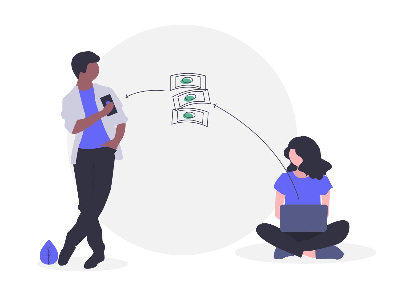 trade bitcoin with bank account