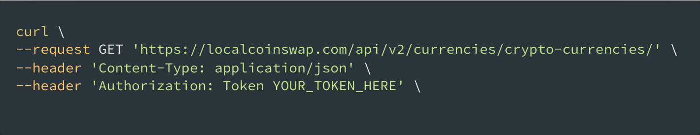 cryptocurrency API bash shell scripting
